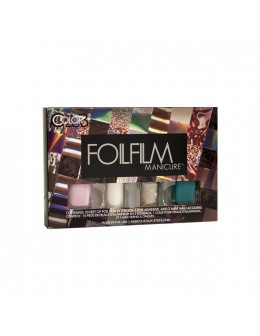 Zestaw Color Club Foilfilm Manicure - Opal Lace