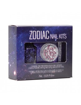 Zestaw Mini Color Club Zodiac Nail Kit - Wodnik