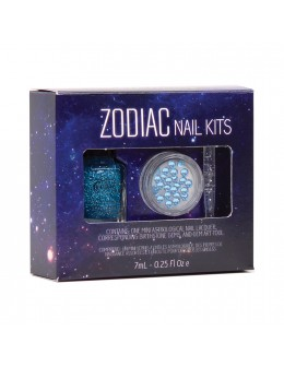 Zestaw Mini Color Club Zodiac Nail Kit - Ryby