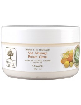Krem Olive Tree Spa Clinic ORGANICS Spa Massage Butter 200g - Citrus
