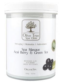 Maska Olive Tree Spa Clinic ORGANICS Spa Masque 1200g - Acai Berry & Green Tea