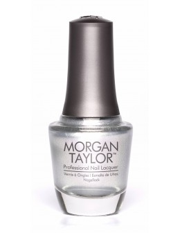 Morgan Taylor Nail Lacquer Casual Cool 0.5oz - Oh Snap Its Silver