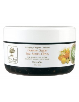 Olive Tree Spa Clinic ORGANICS Gummy Sugar Spa Scrub 250g - Citrus