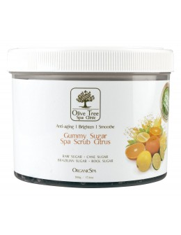 Peeling Olive Tree Spa Clinic ORGANICS Gummy Sugar Spa Scrub 500g - Citrus