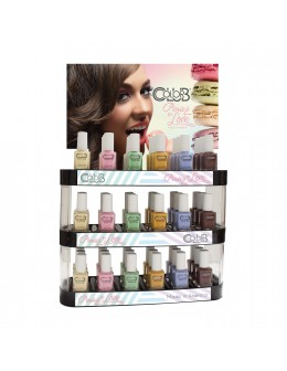 Color Club Paris In Love Collection 54 pcs. Display