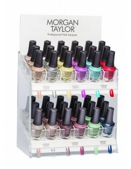 Morgan Taylor Nail Lacquer Casual Cool Display 36pcs