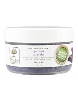 Sól Olive Tree Spa Clinic ORGANICS Spa Soak 200g - Lavender
