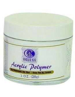 Puder do masy akrylowej Christrio Deluxe Acrylic Polymer Super White - 30g - super biały