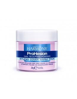 Hand&Nail Harmony ProHesion Sclulpting Powder 0.8oz. - Studio Cover Warm Pink
