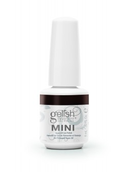 Hand&Nail Harmony GELISH MINI Soak Off Gel Polish 0.3oz - Double Shot Espresso