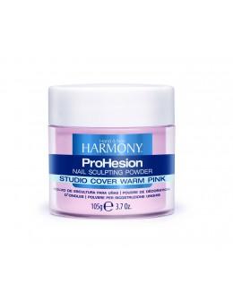 Hand&Nail Harmony ProHesion Sclulpting Powder 3.7oz. - Studio Cover Warm Pink