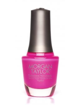 Lakier Morgan Taylor Neon Lights 15ml - Pink Flame-ingo