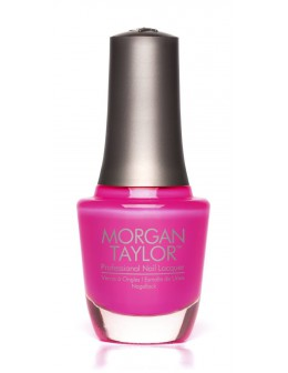Morgan Taylor Nail Lacquer Neon Lights 0.5oz - Pink Flame-ingo