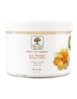 Krem Olive Tree Spa Clinic ORGANICS Spa Massage Butter 400g - Citrus