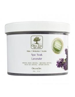 Sól Olive Tree Spa Clinic ORGANICS Spa Soak 400g - Lavender