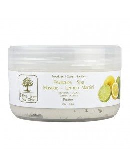 Maska Olive Tree Spa Clinic Pedicure Spa Masque Lemon Martini 250g