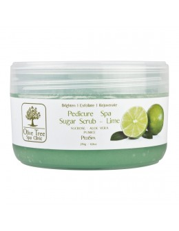 Peeling cukrowy Olive Tree Spa Clinic Pedicure Spa Sugar Scrub 250g - Lime