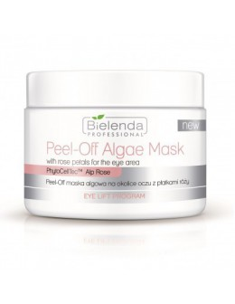 Bielenda EYE LIFT Program Peel-off Algae Mask with rose petals for the eye area 90g