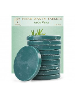 Wosk w tabletkach DepiCare Hard Wax 10szt - Aloe Vera