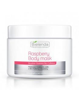Bielenda Body Mask 600g - Raspberry with Guarana Bio-Caffeine