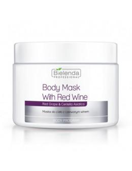 Bielenda Maska do ciała 600g - Z czerwonym winem