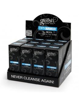 Wystawka Hand&Nail Harmony Gelish LED Dry Armor No Cleanse Top Sealer 12szt.