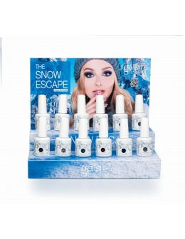 Wystawka Hand&Nail Harmony The Snow Escape Gelish Collection 12szt.