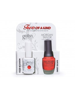 Hand&Nail Harmony Duo Gelish and MT - Tiger Blossom and Sweet Escape
