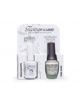 Zestaw Hand&Nail Harmony Duo Gelish and MT - Vegas Nights and Fame Game