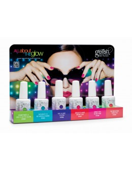 Wystawka Hand&Nail Harmony All About The Glow Collection 6szt.