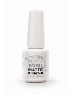 Żel nawierzchniowy matujący Soak Off GELISH MINI Hand&Nail Harmony Matte Top It Off 9ml