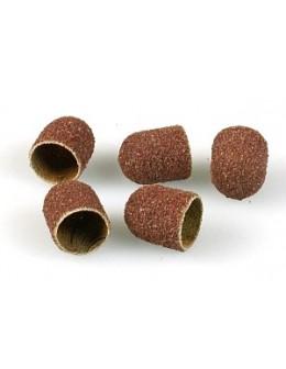 Sand Cap 10pcs - coarse grit 150 - 13mm