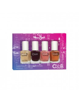 Color Club Nail Lacquer mini Made In New York Collection 4pcs