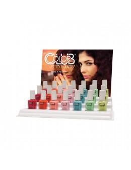 Zestaw lakierów Color Club Ticket To Paradise Collection 21szt. (+21szt. uzupełnienie)