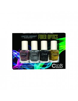 Color Club mini Nail Lacquer Fiber Optics Collection 4pcs.