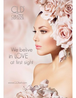 "Plakat CLD Salon Poster ""We believe in LOVE at first sight"""