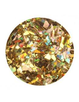 Glitter Flake - gold