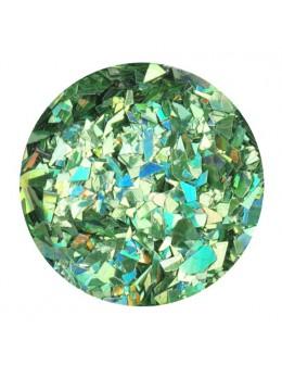 Glitter Flake - green