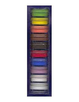 Zestaw matowych akryli kolorowych Christrio Deluxe Color Acrylic Polymer - 10 szt po 3g każdy