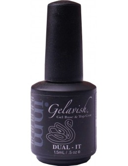 Baz i top coat INM Gelavish Dual-It 15ml