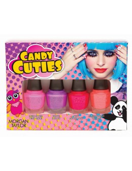 Zestaw mini Morgan Taylor Candy Cuties Hello Pretty Collection 4x5ml