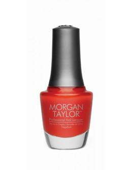Lakier Morgan Taylor Chrome Collection 15ml - Amber Rush Applique