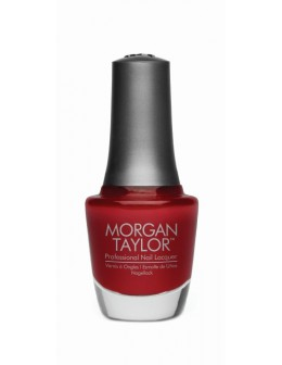 Morgan Taylor Nail Lacquer Chrome Collection 0.5oz - Cherry Applique