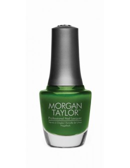 Morgan Taylor Nail Lacquer Chrome Collection 0.5oz - Ivy Applique