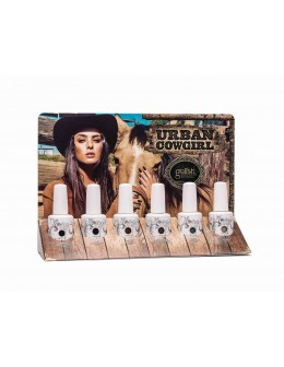 Hand&Nail Harmony Urban CowGirl Collection 6pc