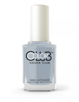 Color Club Nail Lacquer Girl About Town Collection 0.5oz - Silver Lake