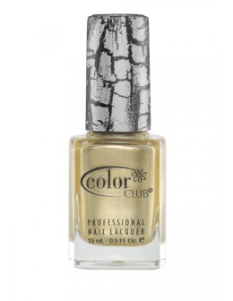 Color Club Fractured Collection Lacquer 15ml - Tattered in gold