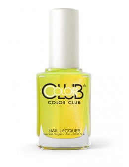 Color Club Nail Lacquer Poptastic Collection 0.5oz - Not-So-Mellow Yellow