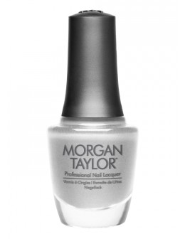 Morgan Taylor Nail Lacquer Gifted With Style Collection 0.5oz - Gifted In Platinum
