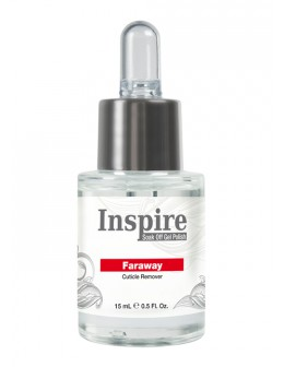 Usuwacz skórek Inspire Far Away Cuticle Remover 15ml